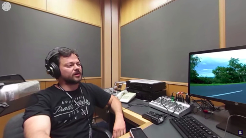 360° Video phenomena - Interview for Czech radio